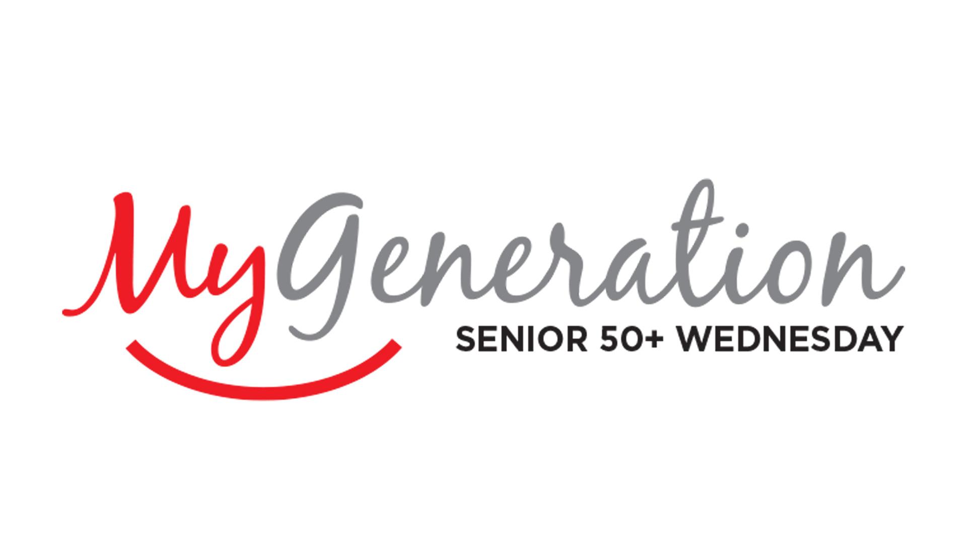 My Generation Senior 50+ Wednesday logo