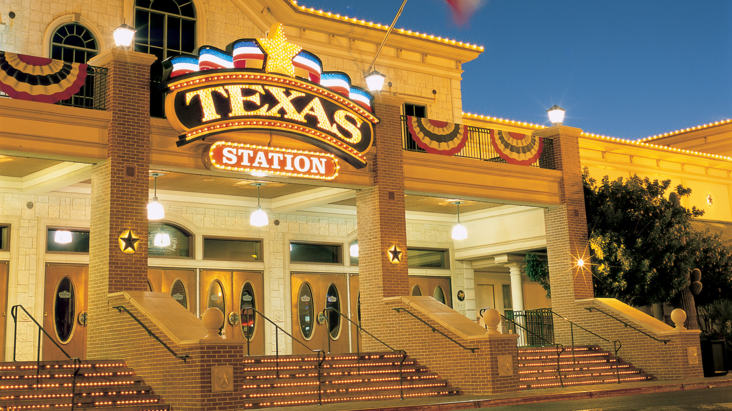 Exterior view of Texas Station