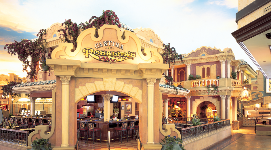 a photo of Rosalita's Cantina from the casino floor